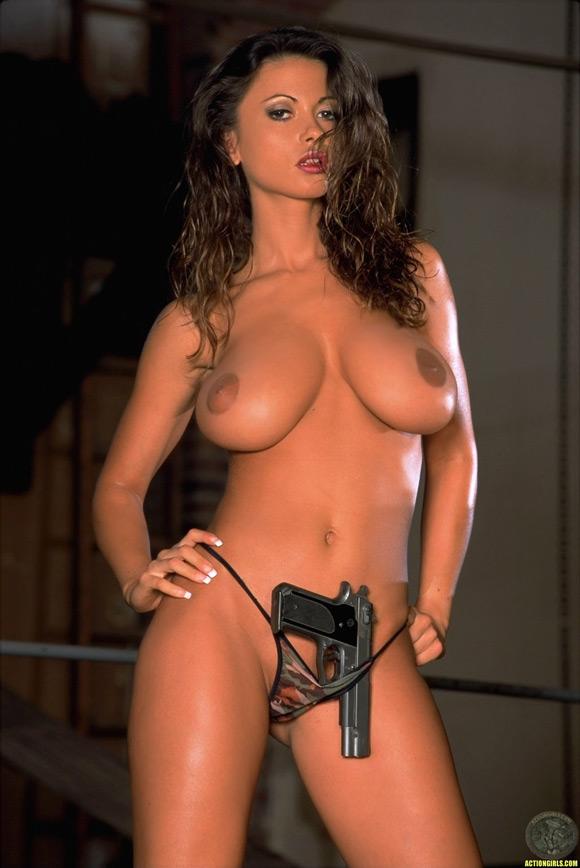 naked-action-girl-veronica-zemanova-as-a-firearms-babe