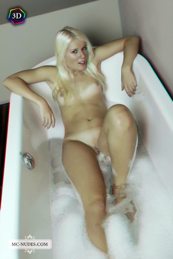 joyful-naked-blonde-taking-relaxing-bath-in-stereo-3d