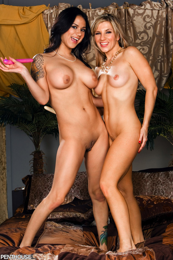 nadia-styles-and-ashley-fires-naked-penthouse-girls-2