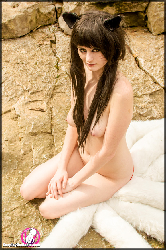 league of legends ahri cosplay nude