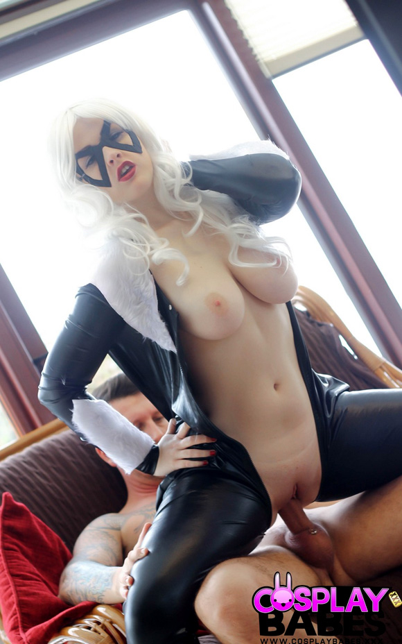 black-cat-naked-cosplay